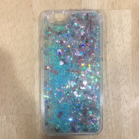 Urban Outfitters Accessories - LIQUID GLITTER IPHONE 6s HARD CASE